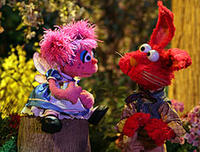 Abby and Elmo in