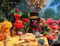 Elmo, Abby, Zoe and Grover in