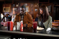 Lance Gross as Brice and Brandy Norwood as Melinda in