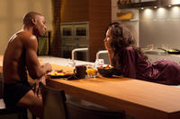 Robbie Jones as Harley and Jurnee Smollett-Bell as Judith in
