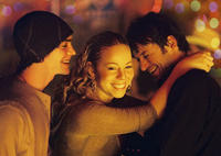 Ethan Peck, Mariah Carey and Adam Rothenberg star in