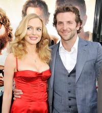 Heather Graham and Bradley Cooper at the California premiere of