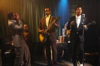 Jordan C. Haynes as Pot Strong, Albert Jones as Hubert Sumlin and Jeffrey Wright as Muddy Waters in