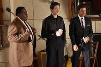 Cedric the Entertainer as Willie Dixon, Adrien Brody as Leonard Chess and Jeffrey Wright as Muddy Waters in