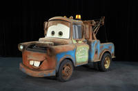 Mater voice by Larry The Cable Guy in
