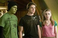 Patrick Fugit as Evra the Snake Boy, Chris Massoglia as Darren and Jessica Carlson as Rebecca in