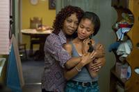 Alfre Woodard and Nicole Beharie in