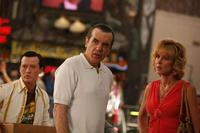 Chazz Palminteri as Yonkers Joe, Tom Guiry as Joe Jr. and Christine Lahti as Janice in
