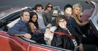 Scott Porter, Vanessa Hudgens, Gaelan Connell, Ryan Donowho, Charlie Saxton, Tim Jo and Alyson Michalka in