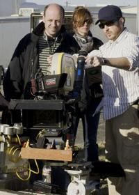 Director Todd Graff on the set of