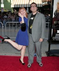 Josh Cagan and Guest at the California premiere of