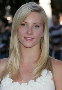 Heather Elizabeth Morris at the California premiere of