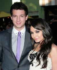 Gaelen Connell and Venessa Hudgens at the California premiere of