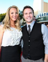 Lisa Kudrow and Scott Porter at the California premiere of