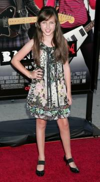 Ryan Newman at the California premiere of