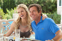 Brooklyn Decker as Skyler and Dennis Quaid as Ramsey in