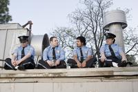 John Yuan as John Yuen, Seth Rogen as Ronnie, Michael Pena as Dennis and Matt Yuan as Matt Yuen in