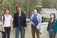 Emma Stone, Woody Harrelson, Jesse Eisenberg and Abigail Breslin in