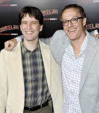 Rhett Reese and Paul Wernick at the California premiere of