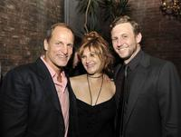 Woody Harrelson, Amy Pascal and director Ruben Fleischer at the after party of the California premiere of
