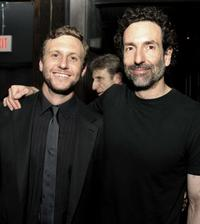 Ruben Fleischer and Gavin Polone at the after party of the California premiere of