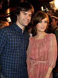 Bill Hader and Kristen Wiig at the California premiere of