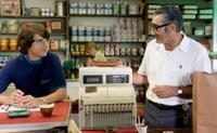 Demetri Martin as Elliot Tiber and Eugene Levy as Max Yasgur in