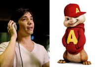 Justin Long voices Alvin in