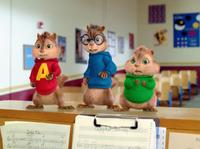 Alvin, Simon and Theodore in