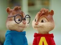 Simon and Alvin in