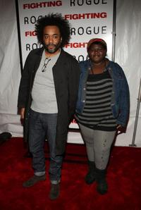 Lee Daniels and Gabby Sidibie at the New York premiere of