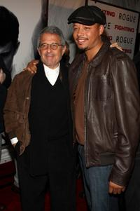 Ron Meyer and Terrence Howard at the New York premiere of