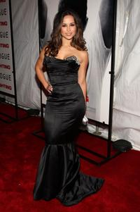 Zulay Henao at the New York premiere of