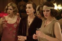 Kimberley Nixon as Hilda, Kristin Scott Thomas as Mrs. Whittaker and Charlotte Riley as Sarah in