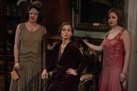 Charlotte Riley as Sarah, Kristin Scott Thomas as Mrs. Whittaker and Kimberley Nixon as Hilda in