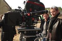 Director Stephan Elliott on the set of