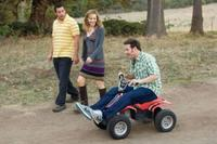 Adam Sandler as George, Leslie Mann as Laura and Seth Rogen as Ira in
