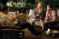 Adam Sandler as George, Leslie Mann as Laura and Eric Bana as Clarke in