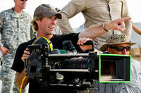 Exclusive! Director Michael Bay on the set of