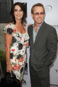 Nadia Comaneci and Bart Connor at the California premiere of
