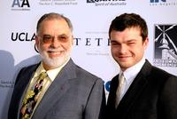 Director Francis Ford Coppola and Alden Ehrenreich at the California premiere of