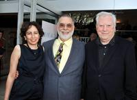 Producer Anahid Nazarian, Director Francis Ford Coppola and producer Fred Roos at the California premiere of