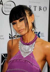 Bai Ling at the California premiere of