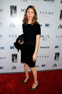 Director Sofia Coppola at the California premiere of