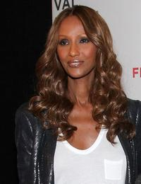 Iman at the New York premiere of