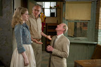 Evan Rachel Wood as Melody, Larry David as Boris and Ed Begley, Jr. as John in