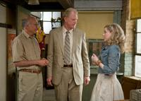 Larry David as Boris, Ed Begley, Jr. as John and Evan Rachel Wood as Melody in