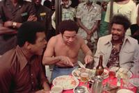 Muhammad Ali, Bill Withers and Don King in
