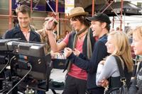 Josh Duhamel, Dax Shepard, Will Arnett, Mark Steven Johnson and Kristen Bell on the