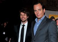 Jon Heder and Will Arnett at the California premiere of